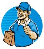 Il messaggero illustrazione di stock