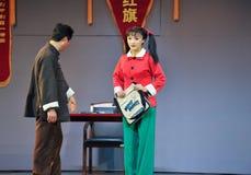Il messaggio da essere appena degno del cappotto di OperaBlue del credenza-Jiangxi Fotografia Stock Libera da Diritti