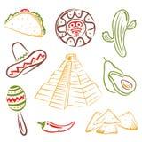 Il Messico, alimento messicano Immagine Stock