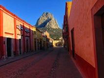Il Messico, Peña de bernal fotografie stock libere da diritti