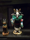 Il mestiere del nativo americano calcola nel museo a Phoenix U.S.A. Fotografie Stock Libere da Diritti