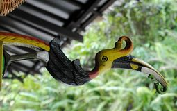 Il mestiere dell'uccello Immagine Stock