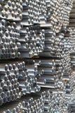 Il metallo profila il tubo Fotografia Stock