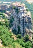 Il Meteora in Grecia Immagini Stock Libere da Diritti