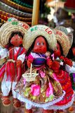 Il mexican del burattino della bambola handcrafts il ricordo Fotografia Stock Libera da Diritti