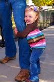 Il miei Daddy e me Fotografia Stock Libera da Diritti