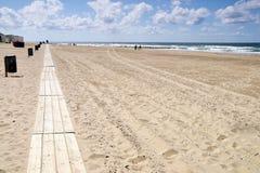Il miglio della spiaggia Immagine Stock