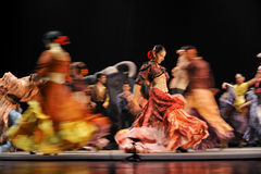 Il migliore dramma di ballo di flamenco: Carmen Immagini Stock Libere da Diritti