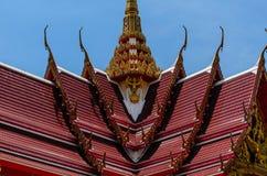 Fuoco del tempio tailandese Fotografia Stock Libera da Diritti