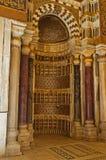 Il mihrab del complesso di Qalawun Immagini Stock