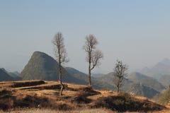 Il millennio del villaggio di Yao in porcellana immagini stock