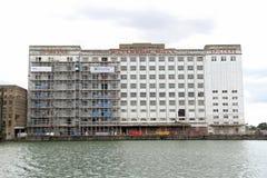 Il millennio macina i docklands Londra Fotografia Stock Libera da Diritti