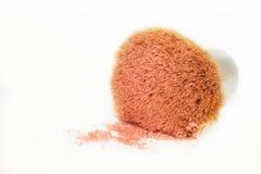 Il minerale arrossisce spazzola Fotografie Stock Libere da Diritti