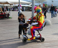 Il mini circo è venuto Fotografie Stock Libere da Diritti