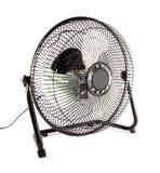 Il mini ventilatore nero Immagini Stock Libere da Diritti