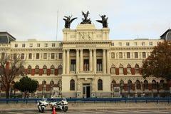 Il Ministero di agricoltura a Madrid, Spagna Immagini Stock Libere da Diritti