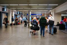 Il Minneapolis-san Paul International Airport (MSP) Immagine Stock Libera da Diritti