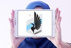 Il Minnesota ha unito il logo del club di calcio di FC Fotografia Stock Libera da Diritti
