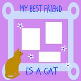 Il mio amico il gatto immagine stock libera da diritti