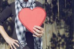 Il mio amore a voi Fotografie Stock