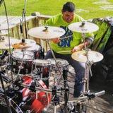 Il mio batterista Boy fotografie stock libere da diritti