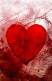 Il mio biglietto di S. Valentino sanguinante fotografia stock libera da diritti