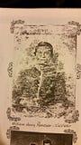 Il mio bisnonno che ha combattuto alla battaglia di Shiloh TN fotografia stock