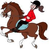 Il mio cavallo Immagini Stock
