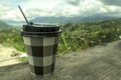 Il mio coffee2 Fotografia Stock