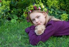Il mio coniglio Immagine Stock