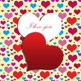 Il mio cuore per voi Immagine Stock