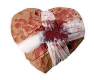 Il mio cuore - regalo per voi! Immagini Stock