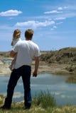 Il mio daddy Fotografia Stock