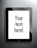 Il mio iPad Immagine Stock