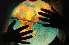 Il mio mondo Immagine Stock Libera da Diritti