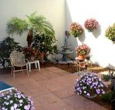 Il mio patio Immagine Stock