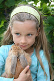 Il mio piccolo coniglio Fotografie Stock