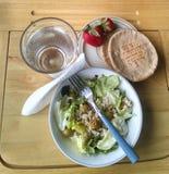 Il mio pranzo sano Fotografia Stock Libera da Diritti