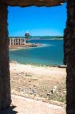 Il mio punto di vista al vecchio tempio Immagine Stock