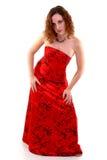 Il mio vestito rosso Immagine Stock Libera da Diritti