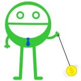 Il mio yo-yo Fotografie Stock Libere da Diritti