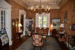 Il Mississippi esegue il centro di informazione turistica profondo Fotografia Stock
