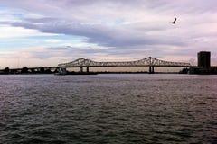 Il Mississippi vigoroso Fotografia Stock