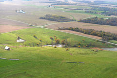 Il Missouri Hillside Fotografia Stock Libera da Diritti