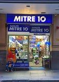 Il mitra 10 è una catena basata australiana della ferramenta di commercio e di vendita al dettaglio Immagini Stock Libere da Diritti