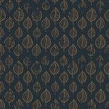Il modello copre di foglie oro illustrazione vettoriale