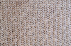 Il modello del bambù tailandese di stile handcraft il fondo di struttura Fotografia Stock Libera da Diritti