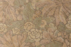 Il modello del tessuto con floreale è aumentato fotografia stock libera da diritti