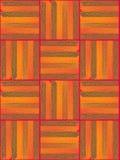 Il modello del tessuto a strisce dei frammenti Immagine Stock Libera da Diritti