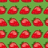 Il modello delle fragole Immagini Stock Libere da Diritti
